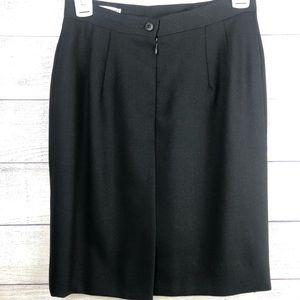 V Vintage Giorgio Armani Skirt Le Collezioni Black